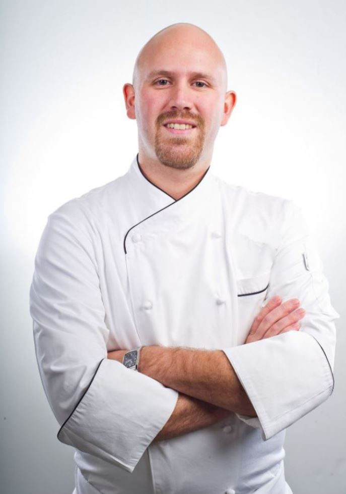 Picture of a chef who is eligible for a business loan