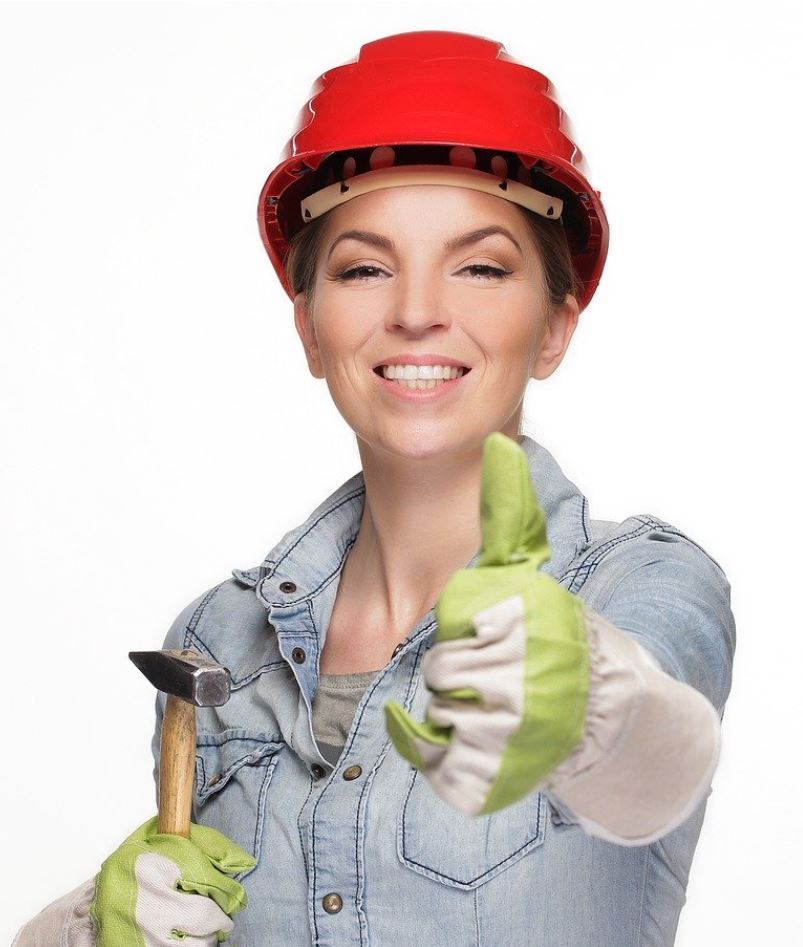 Female contractor eligible for a business loan